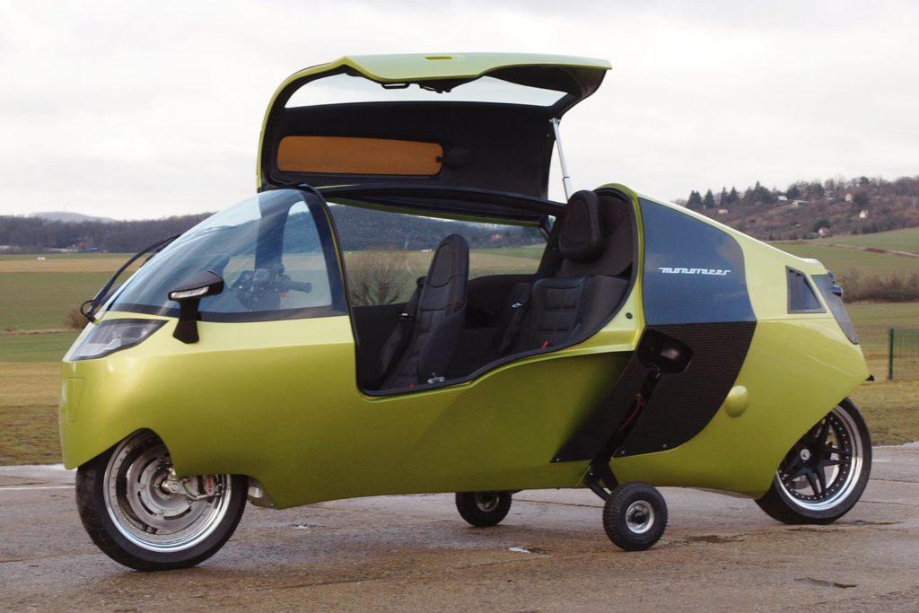 CabinMotorcycles MonoRacer 130E